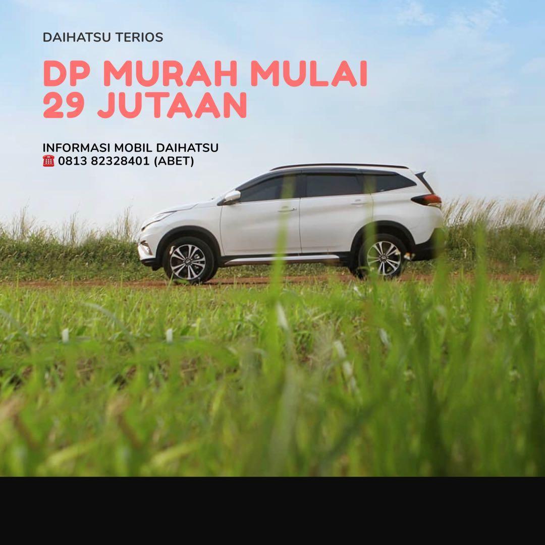 DP MURAH Daihatsu Terios mulai 29 jutaan. Daihatsu Fatmawati