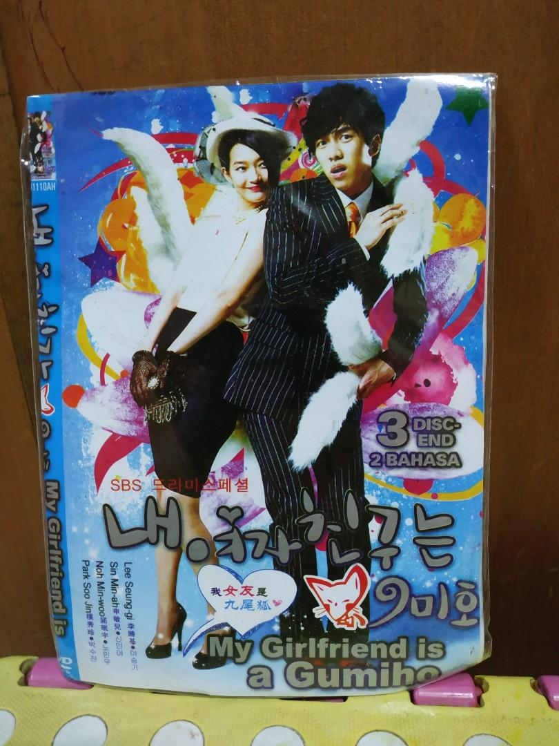 DVD Drama Korea my girlfriend is gumiho