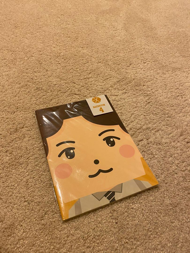 EXO Baekhyun Notebook