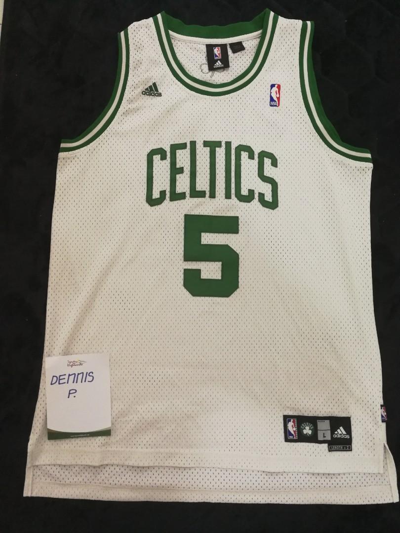 SALE Authentic Adidas NBA Swingman Jersey Kevin Garnett Boston ...