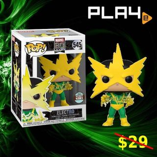Funko Pop Electro Marvel  80 Years Special Series 545