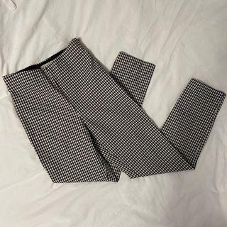 H&M GINGHAM PANTS