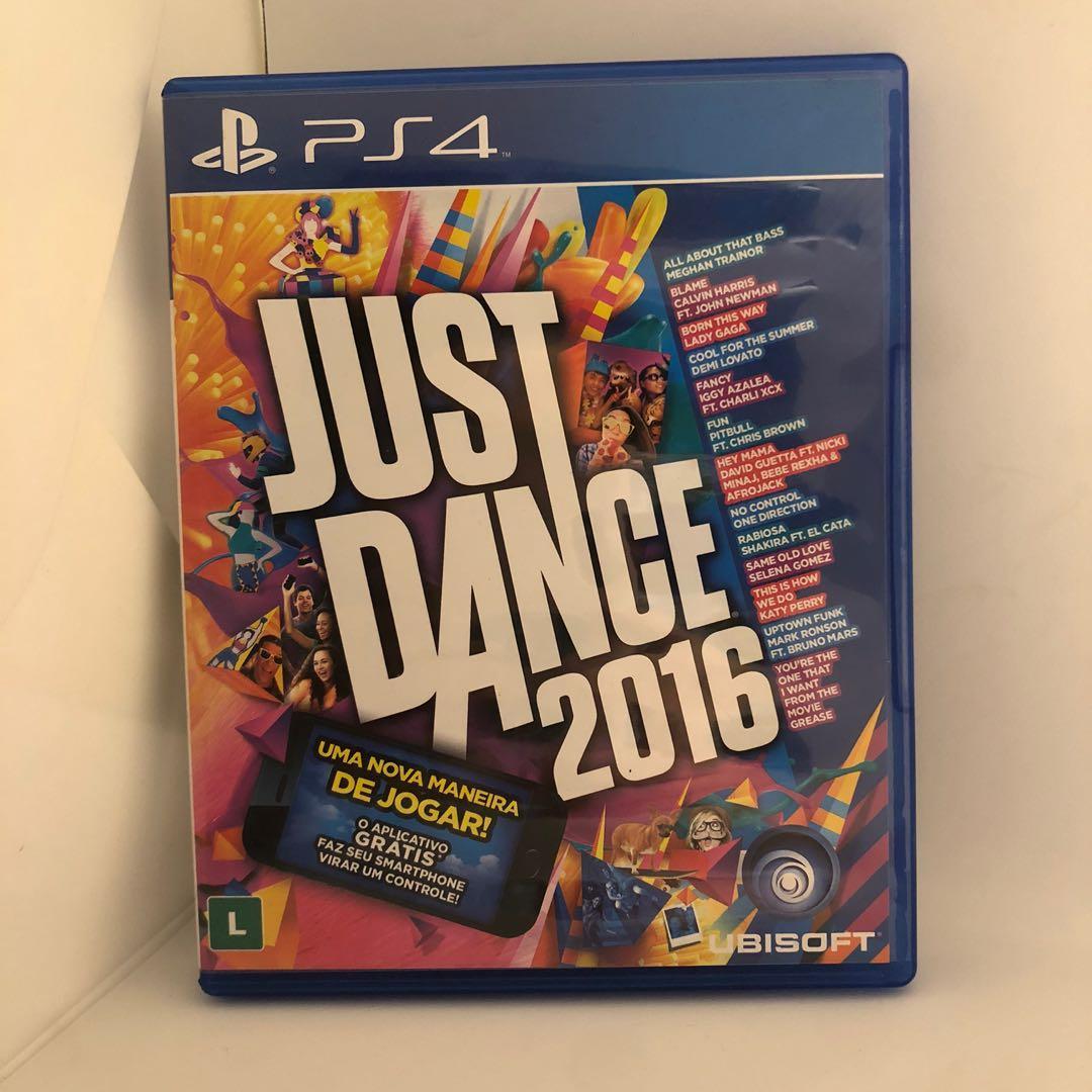 Kaset PS4 - Just Dance 2016