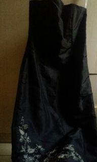 Kemben Dress Hitam Denny Wirawan