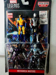 Marvel action figures 3.75