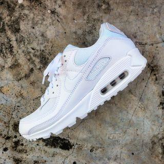 """Nike Air Max 90 """"Triple White"""""""