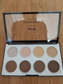 NYX - Highlight & Contour Cream Pro Palette