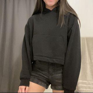 Oak and Fort Cropped Hoodie