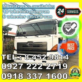 PROMO PRICE!!  TRUCK FOR RENT LIPAT BAHAY/GAMIT TRUCKING SERVICES MOVERS