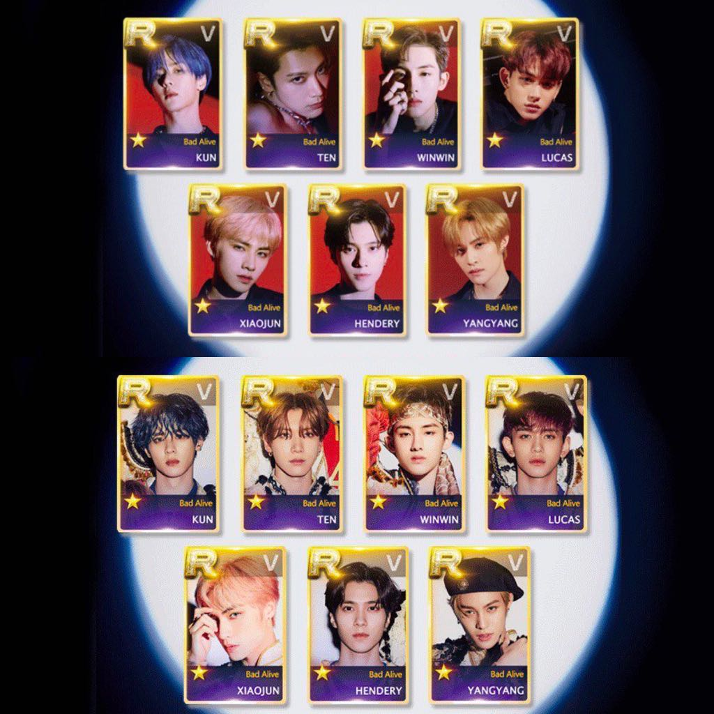 Sharing Wayv Lenticular Photocard Bad Alive Entertainment K Wave On Carousell