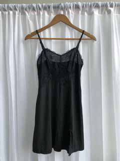 Wacoal Black lace night dress