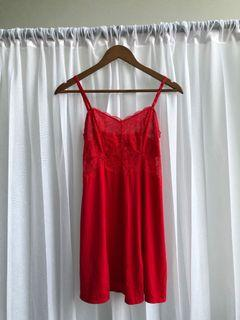 Wacoal Red Night Gown