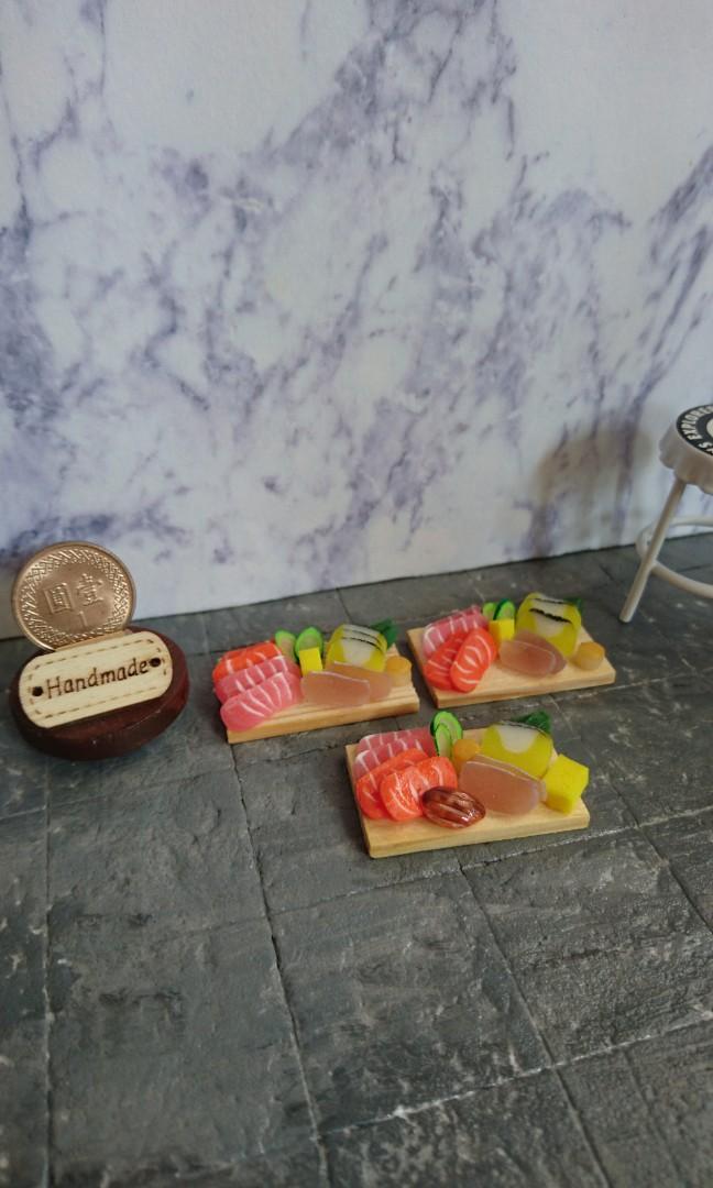 袖珍版 迷你日料 綜合生魚片 純手工製作