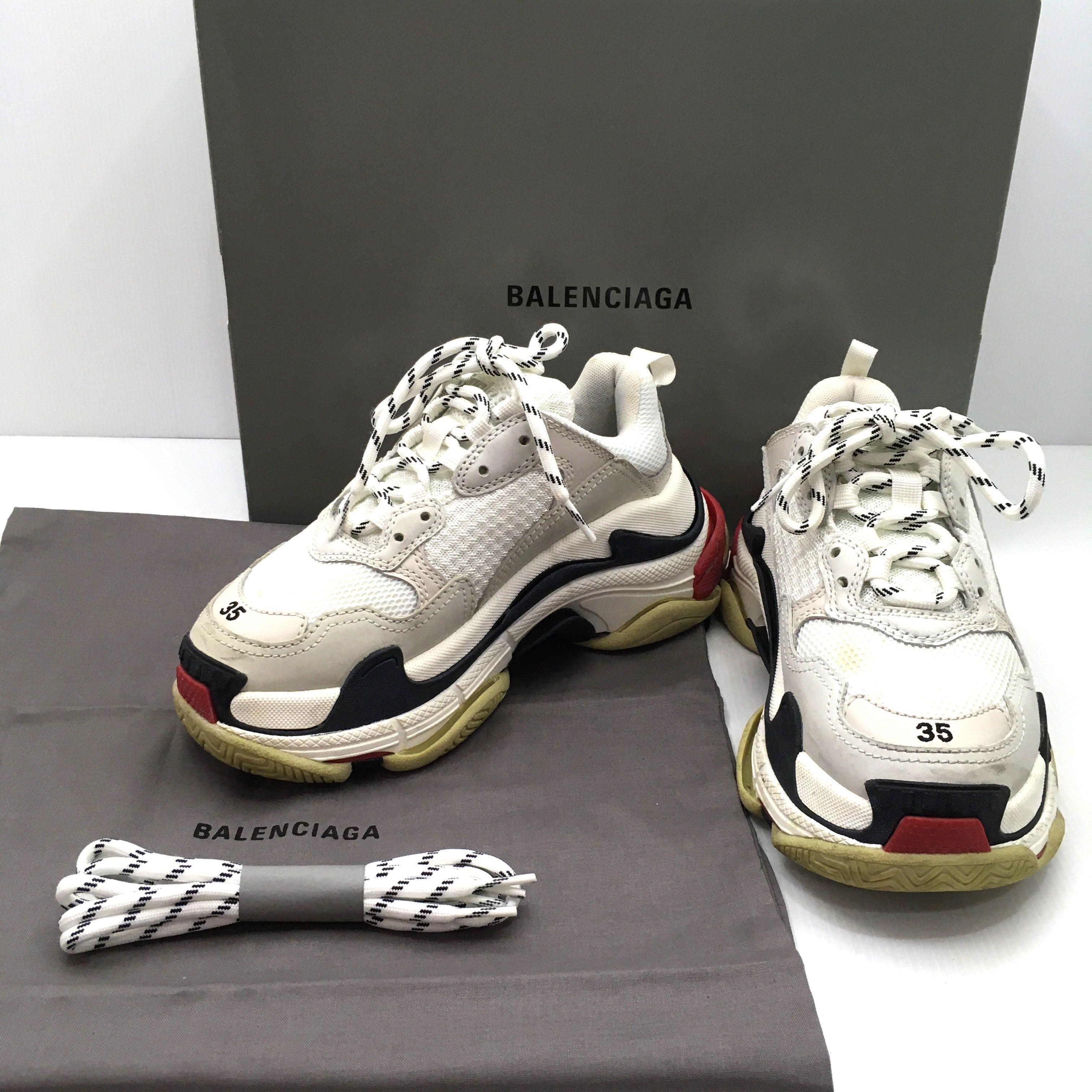Discounted)Balenciaga Triple S Size 35