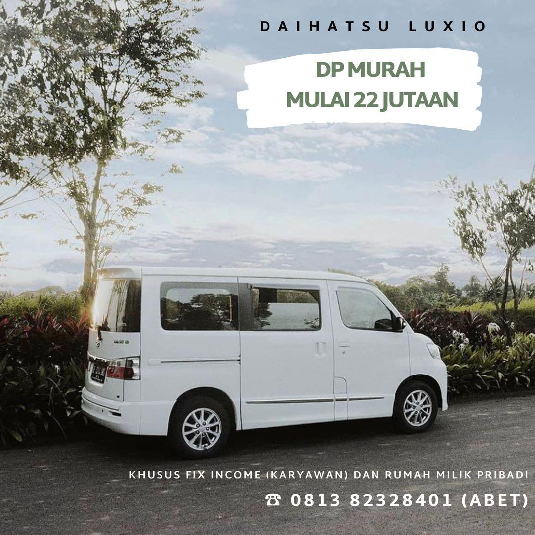 DP RINGAN Daihatsu Luxio mulai 22 jutaan. Daihatsu Fatmawati