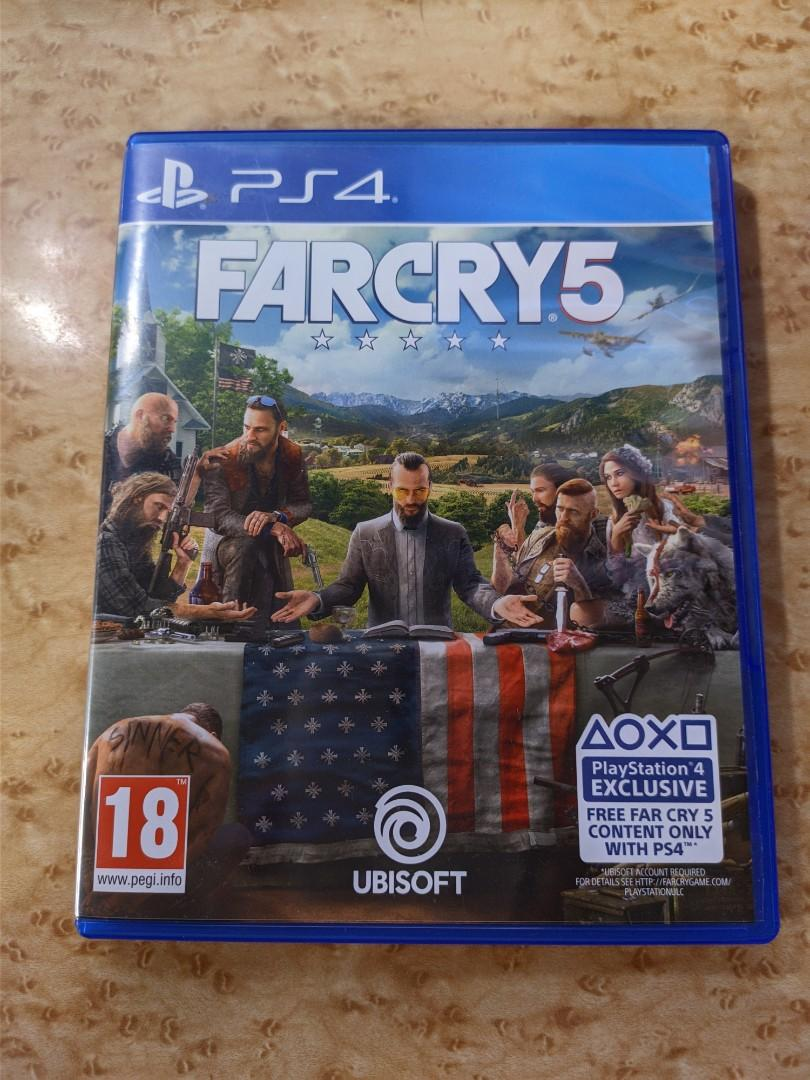 Far Cry 5 Ps4 Toys Games Video Gaming Video Games On Carousell