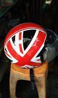 Helm BXP bendera inggris