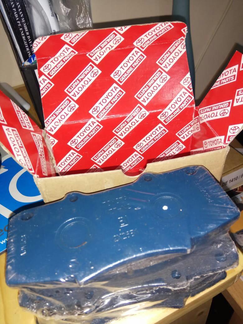 Kampas Rem, pad kit disc brake fr 04465-0K340