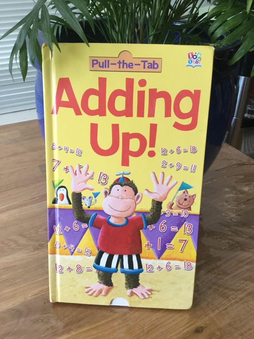 Learning Math pull tab for answers