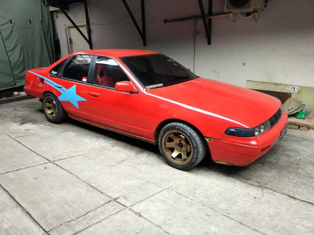 Nissan Cefiro Drift Tahun 1991