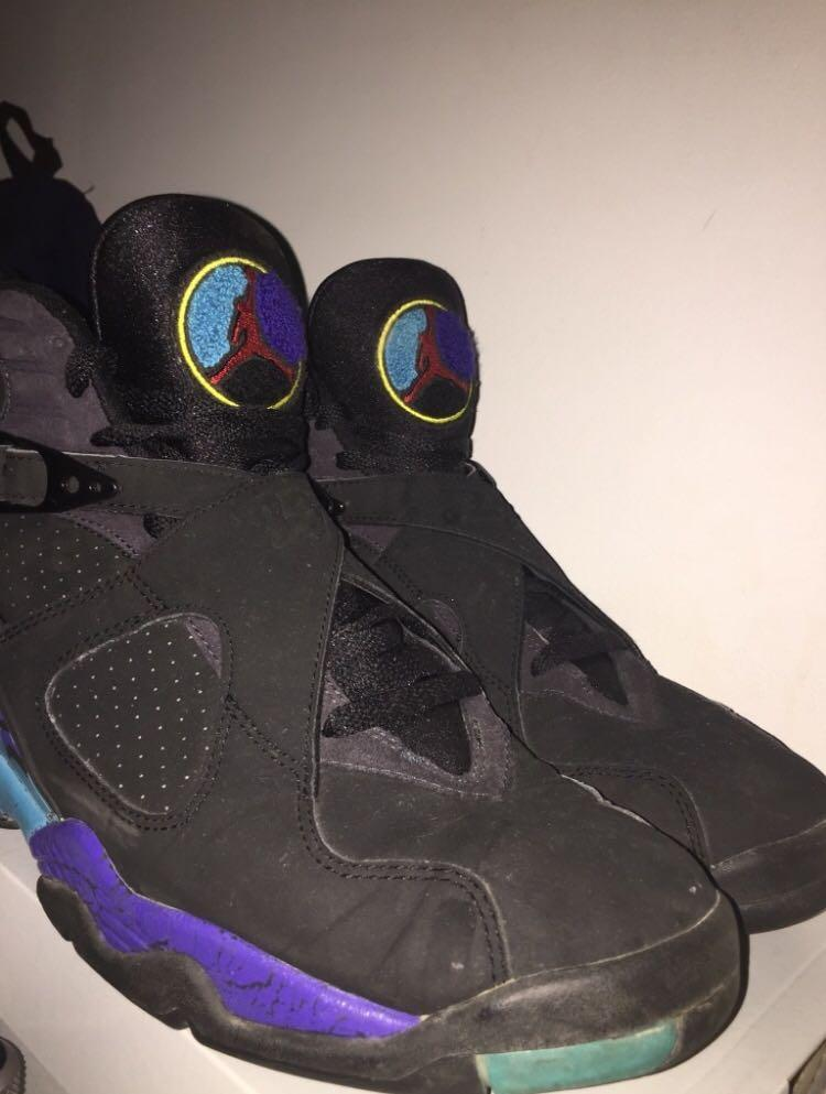 Retro Aqua 8s Size 11(negotiable)