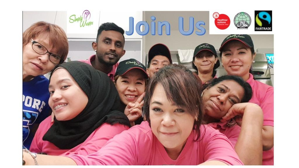 Service Crew ** SG/PR, LTVP+ or Malaysians n SG only **