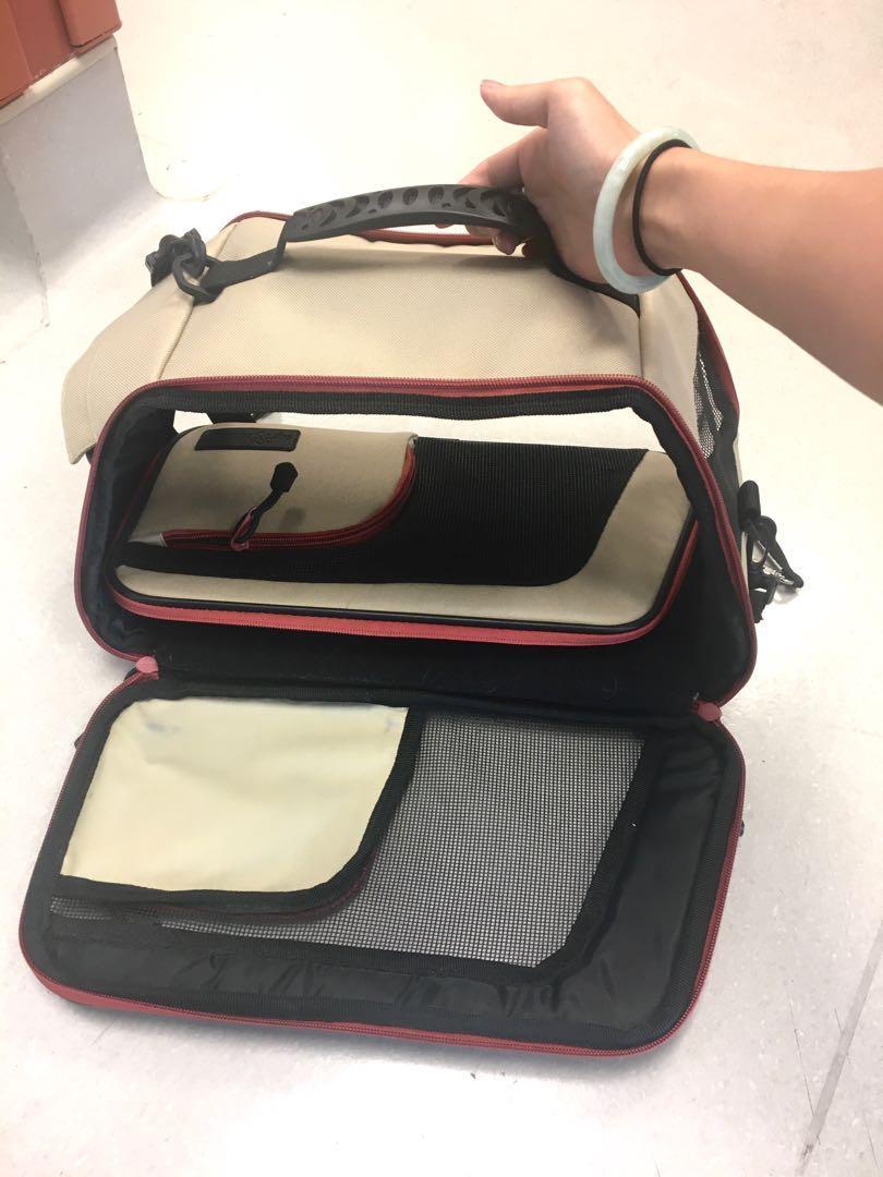 Small pet carrier bag