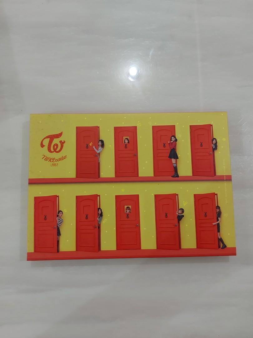 二手-韓壓TWICE第一張特別專輯-twicecoaster: lane 2