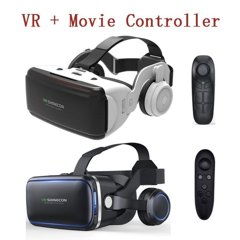 Virtual Reality 3D Helmet Video Bluetooth