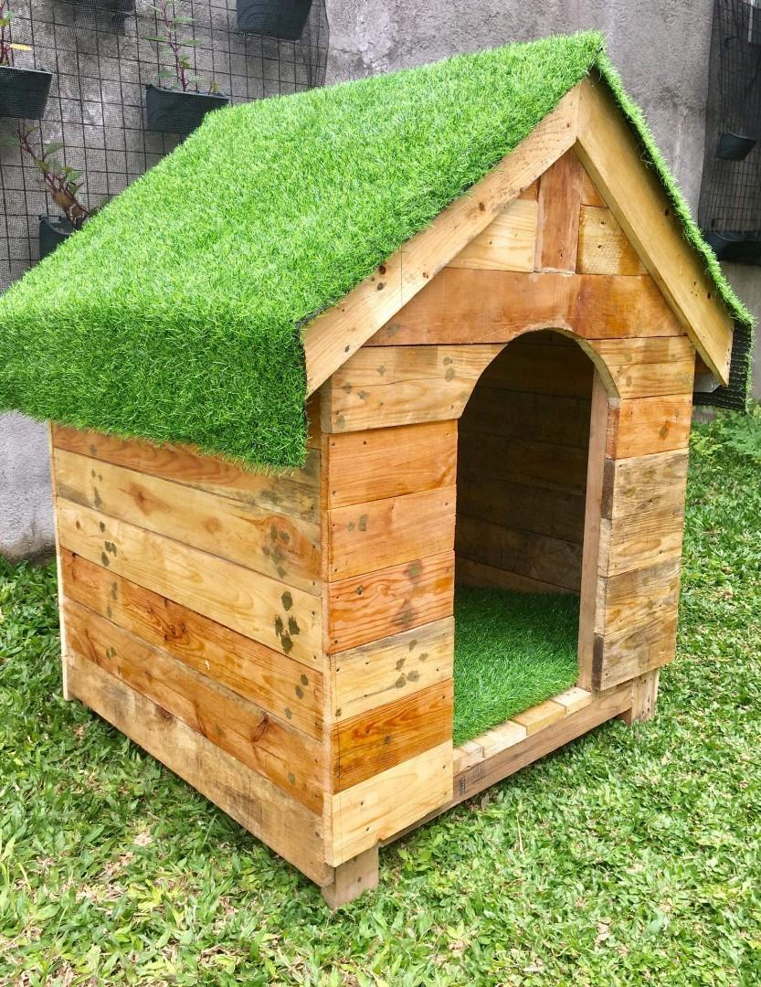 Wooden Dog House For Sale Cat House Indoor Outdoor 639209225831 Pet Supplies Homes Other Pet Accessories On Carousell
