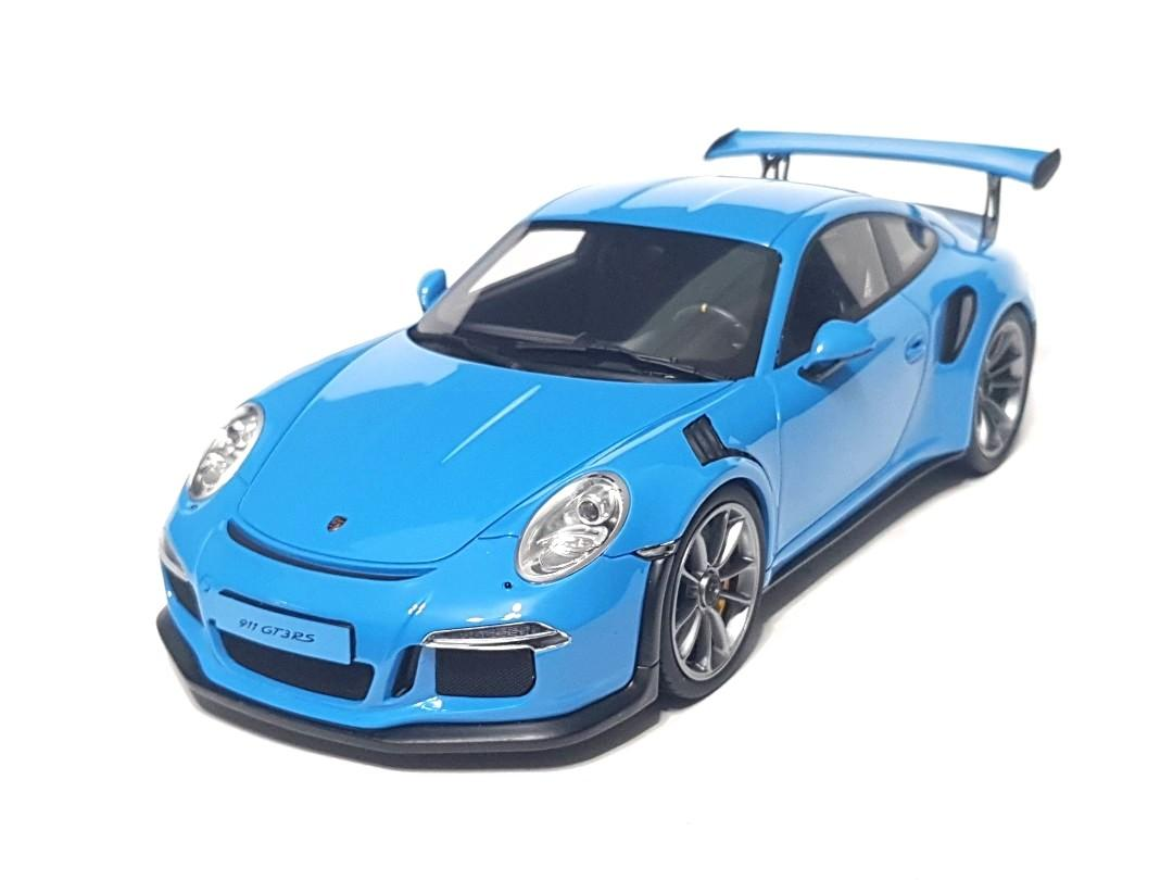 1 18 Porsche 991 Gt3 Rs Blue Gt Spirit Toys Games Others On Carousell