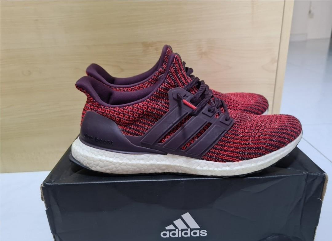 Adidas Ultra Boost 3.0 noble red, Men's