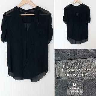 Aritzia Ten Babaton silk shirt - medium
