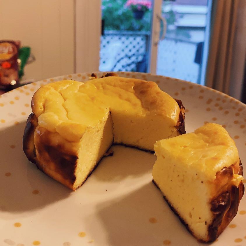 Basque burnt cheesecake 🍰