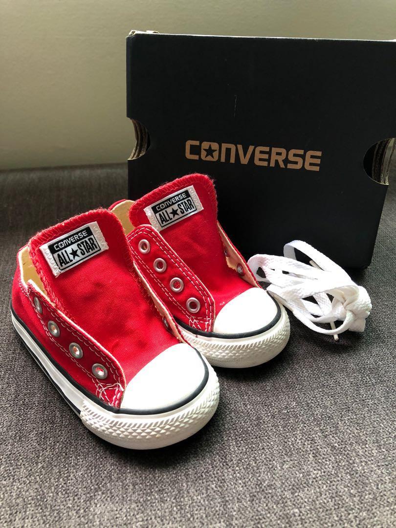 BN Converse Infant Shoes, Luxury, Shoes