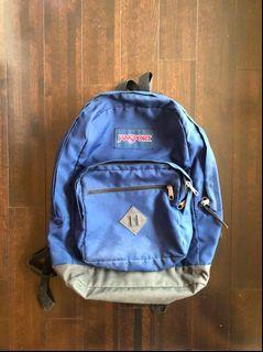 Dark Blue Jansport Backpack
