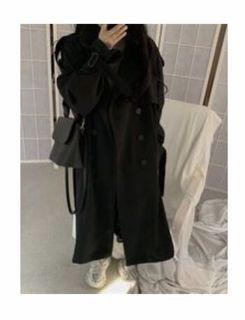 Double breasted trench SZ OS