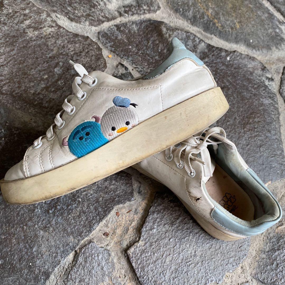 Gracegift  Disney  Tsum Tsum 系列正版女性休閒鞋 24cm
