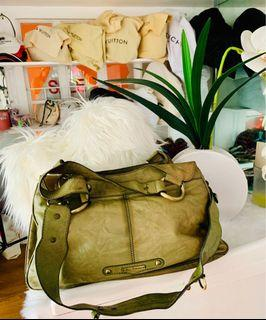 Guess genuine leather bag