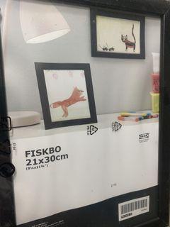 Ikea Fiskbo Frames x 3