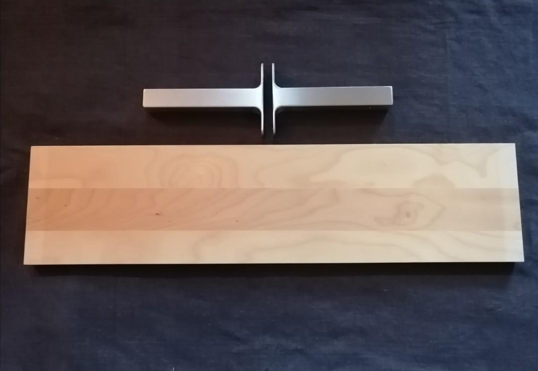 IKEA shelf & brackets