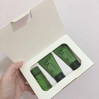 Innisfree綠茶超含水護膚體驗組