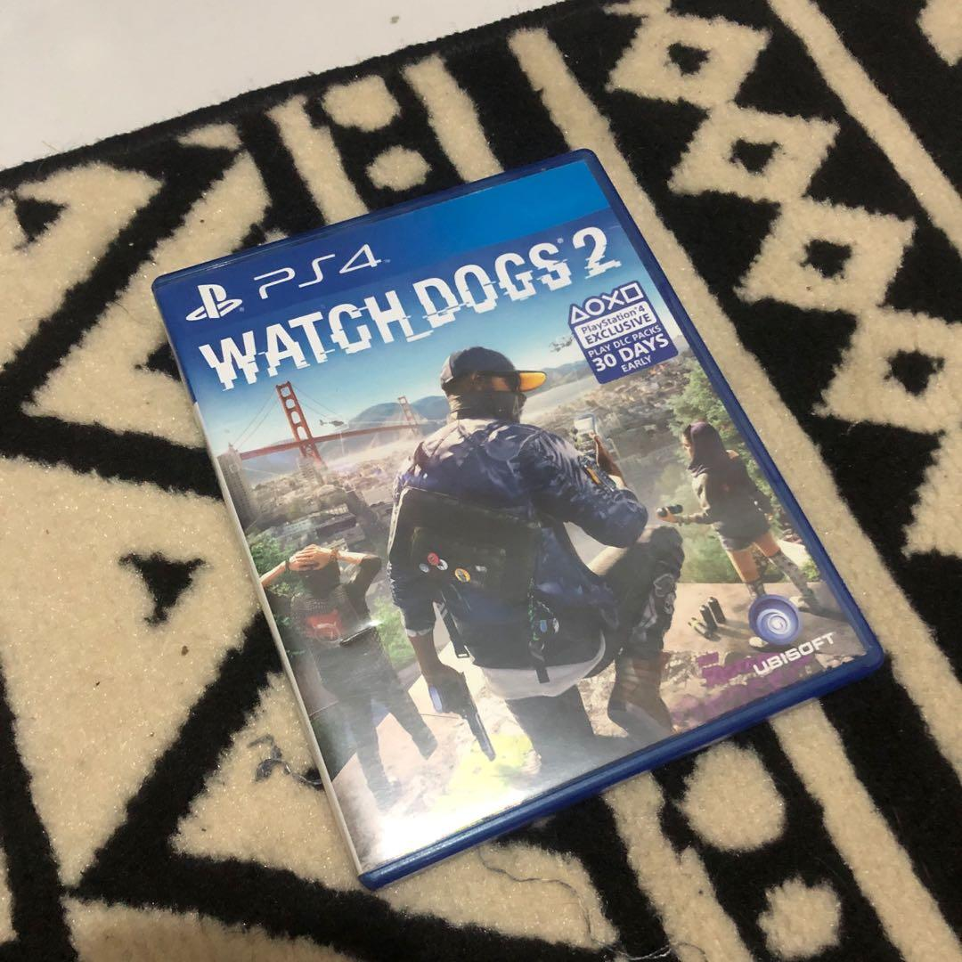 Kaset PS4 BD Watch Dogs 2