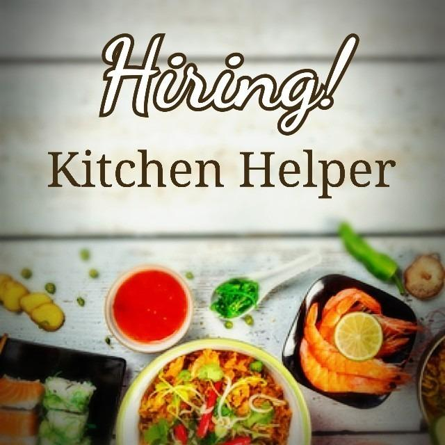 Kitchen Helper/Service Crew