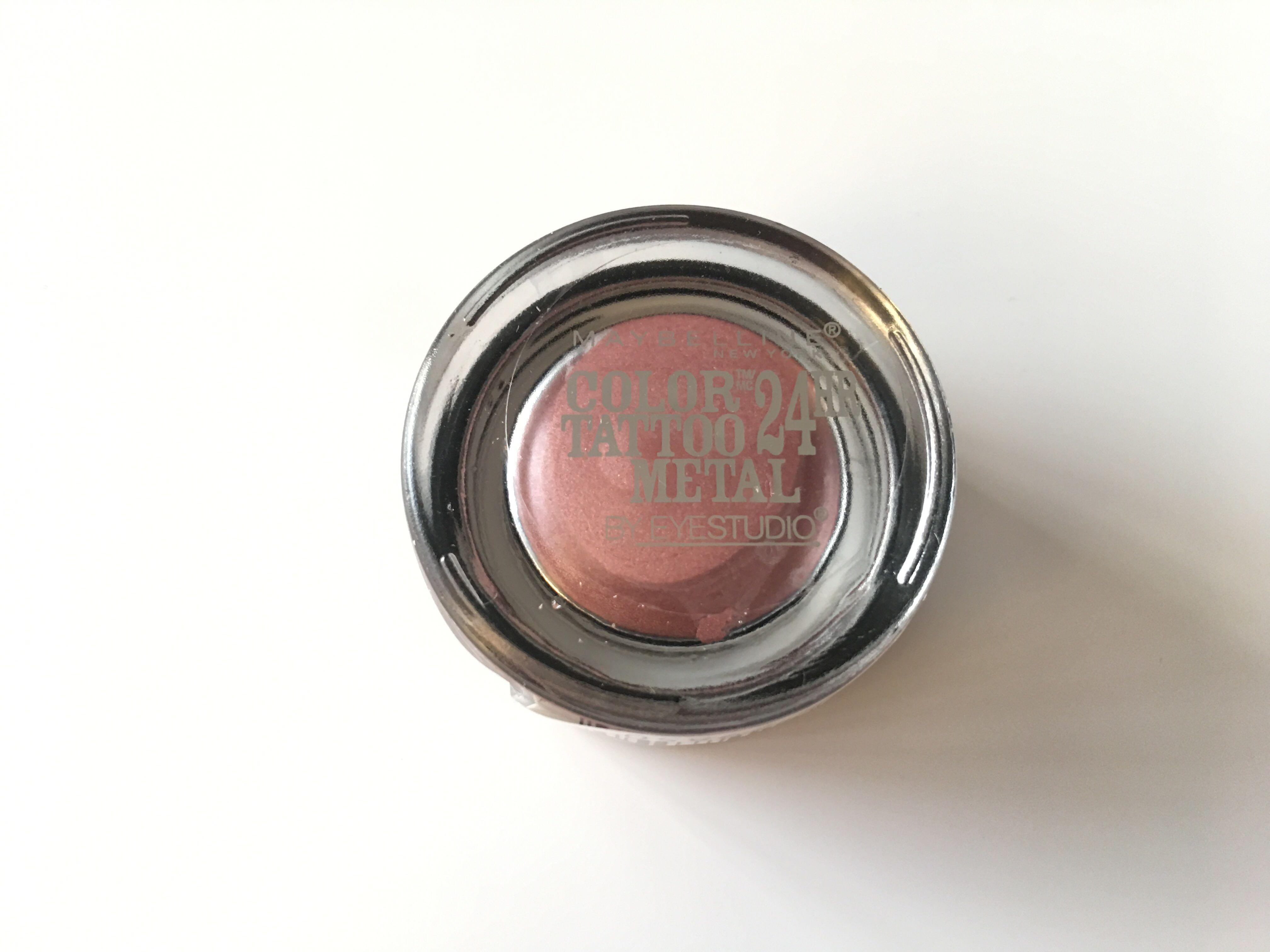 Maybelline New York Color Tattoo Metal 24h Eyeshadow #55 Inked In Pink