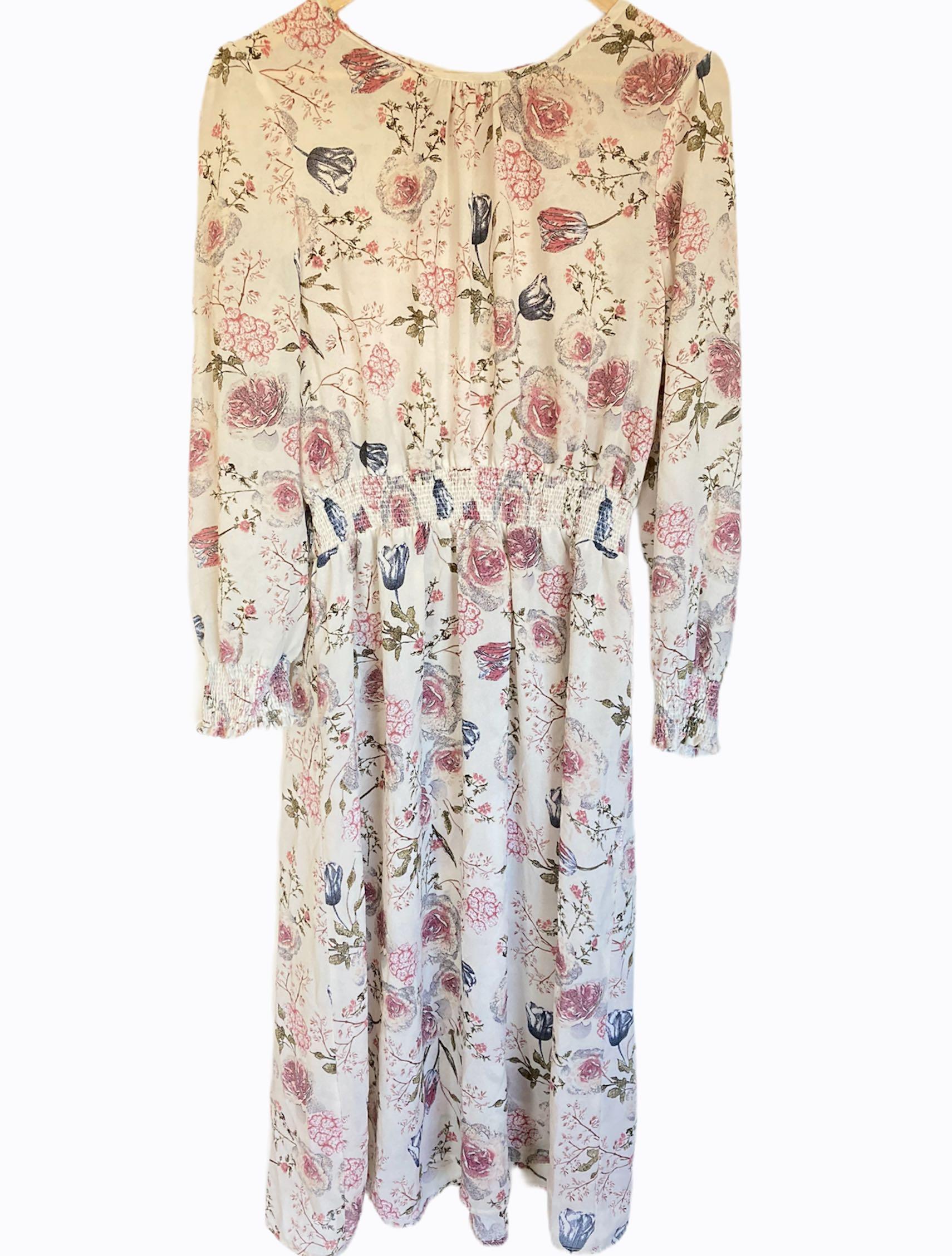 Midi floral dress - Used