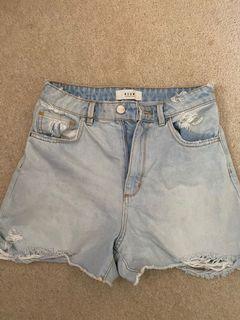 NEUW denim shorts