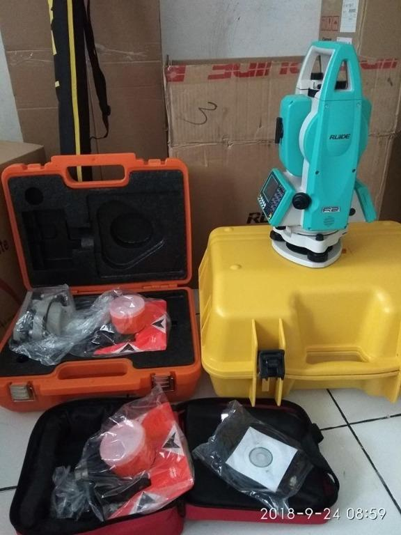 """New"""" Total Station RUIDE RTS-822R2 (Full Set)"""
