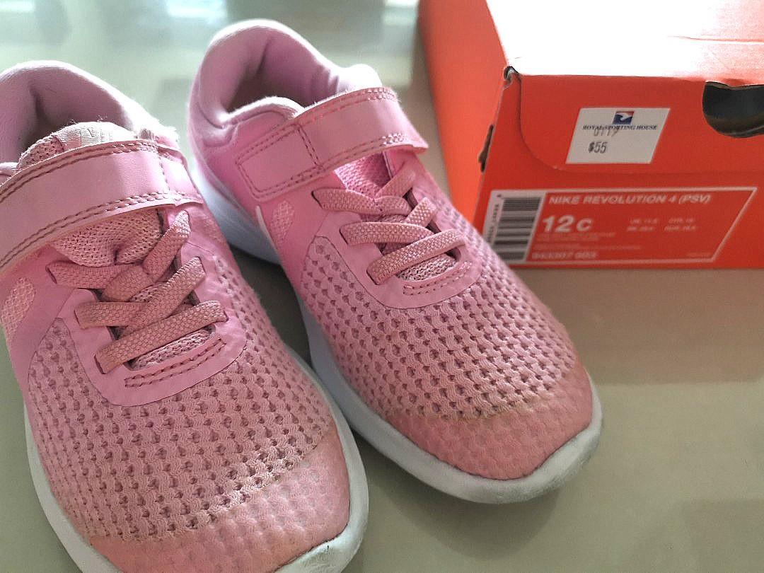 Nike Shoes - Revolution 4 (PSV) 12C