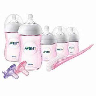 Philips Avent Natural Baby Bottle Pink Gift Set 3個4oz及2個9oz粉紅色奶樽